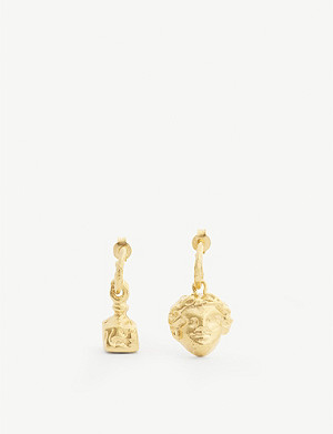 ALIGHIERI Casella And The Music 24ct stud earrings