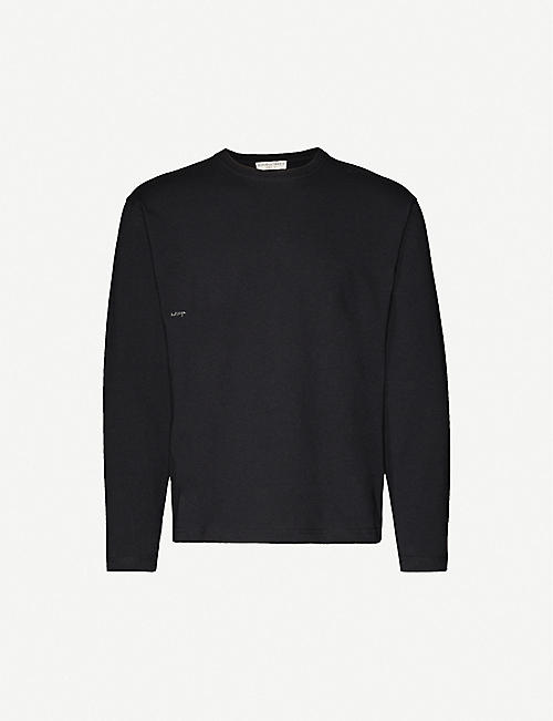 Obey Mens Knuckle Long Sleeve Woven Shirt