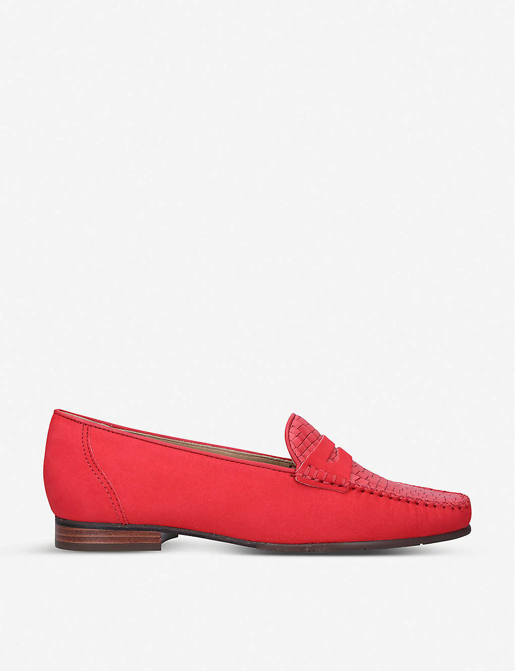 CARVELA COMFORT: Carol nubuck leather loafers