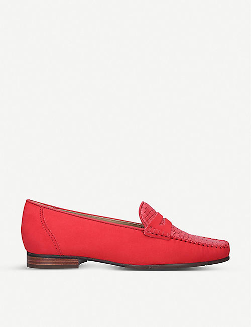 CARVELA COMFORT Carol nubuck leather loafers