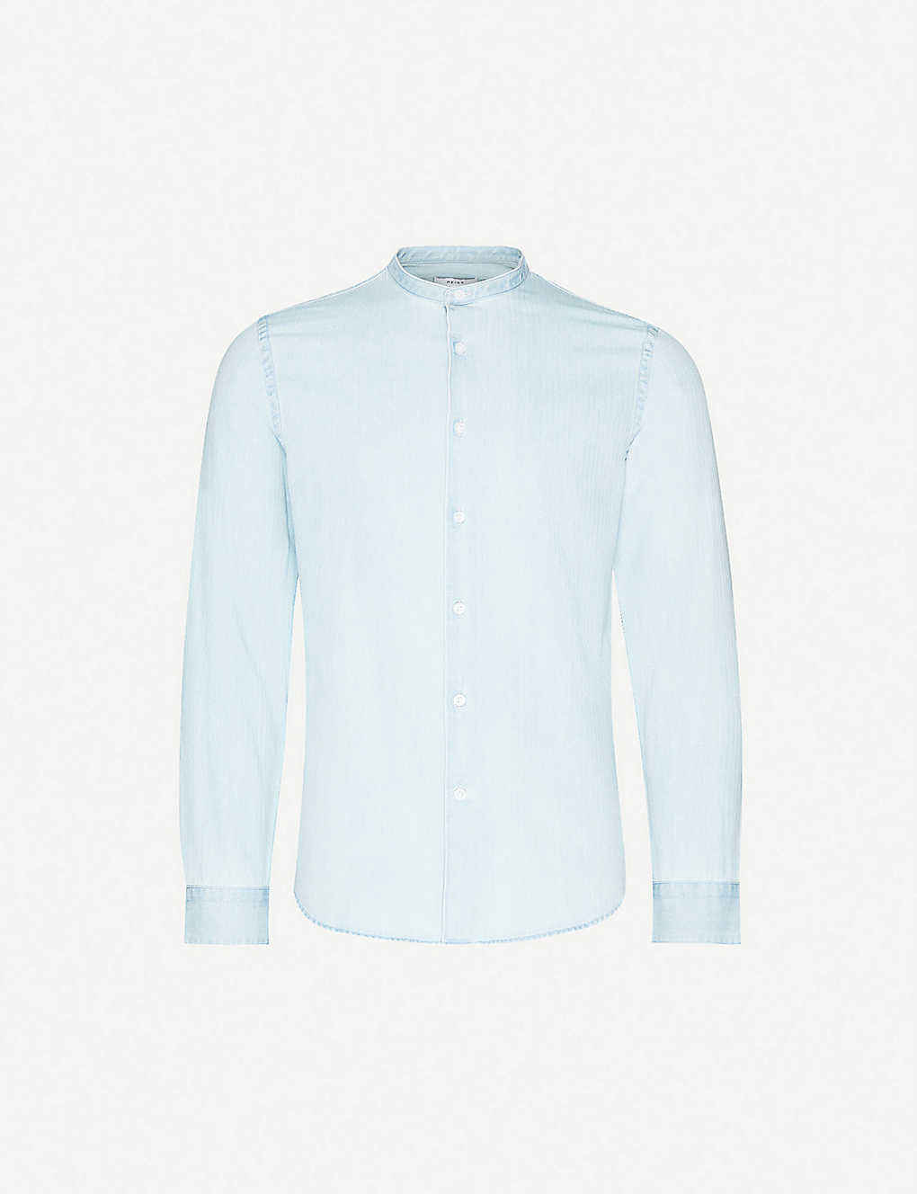 REISS: Maine acid-wash slim-fit cotton shirt