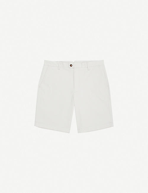 REISS: Wicket regular-fit cotton chino shorts