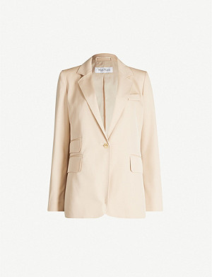 MAX MARA Unno single-breasted wool blazer