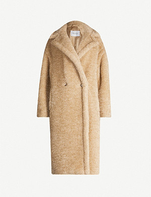 MAX MARA Double-breasted wool-blend twill coat