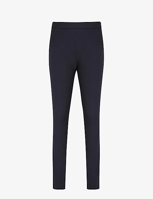 REISS: Tyne skinny high-rise stretch-woven trousers