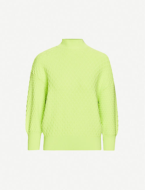 TED BAKER: High-neck knitted jumper