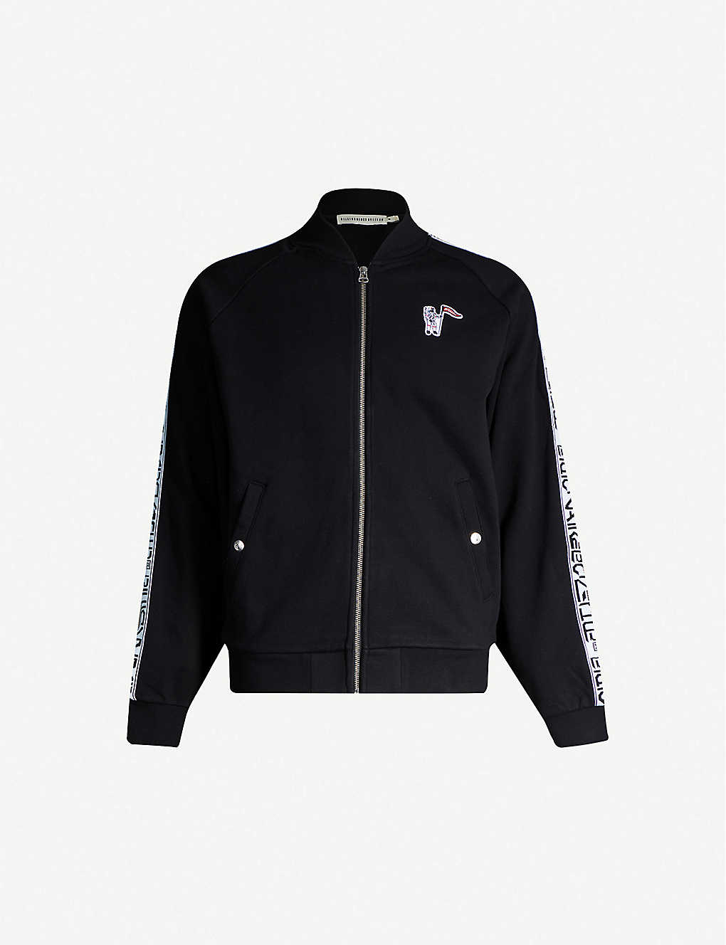 BILLIONAIRE BOYS CLUB: Logo-embroidered cotton jacket