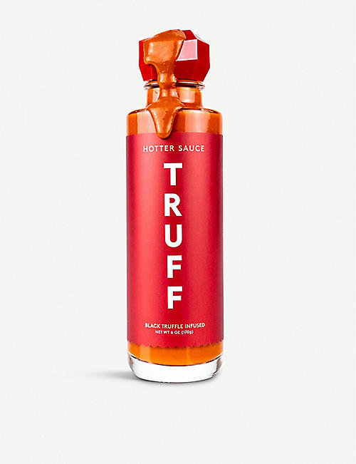 TRUFF HOT SAUCE: Black Truffle Hotter Hot Sauce 170g