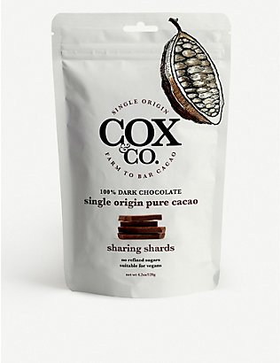 COX & CO: Single origin pure cacao sharing shards 120g