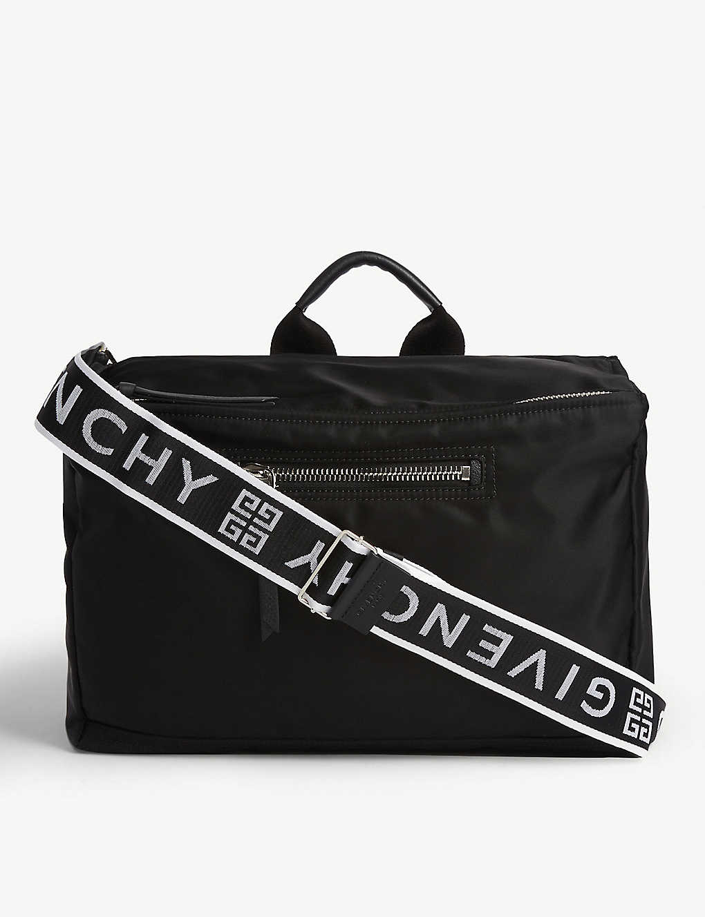 GIVENCHY: Pandora nylon messenger bag