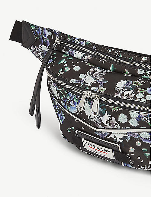 GIVENCHY Downtown floral belt bag