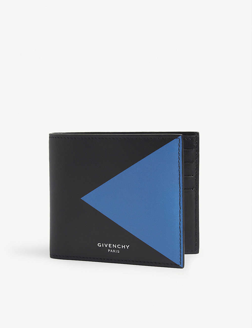 GIVENCHY: Leather billfold wallet