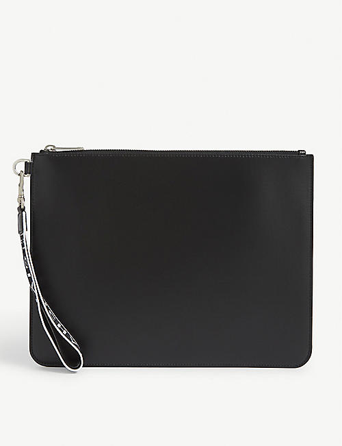GIVENCHY: 4G logo coated canvas pouch