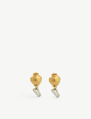 ALIGHIERI 24k gold-plated earrings