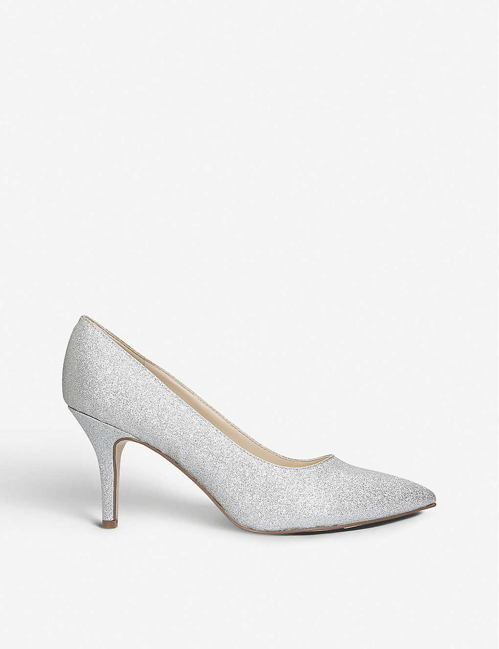 NINE WEST: Flagship 75 glitter court shoes