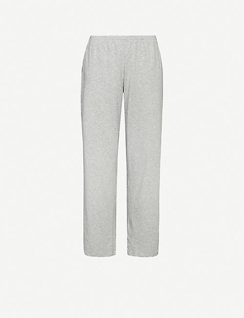 SKIN Elena stretch-jersey pyjama bottoms