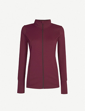LORNA JANE Excel stretch-jersey jacket