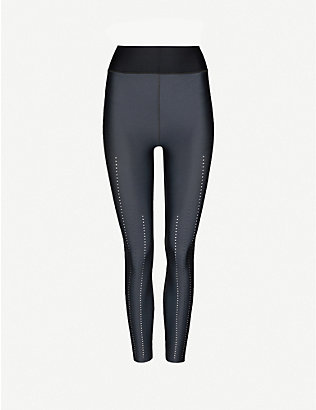 ULTRACOR: Corsetry high-rise stretch-jersey leggings