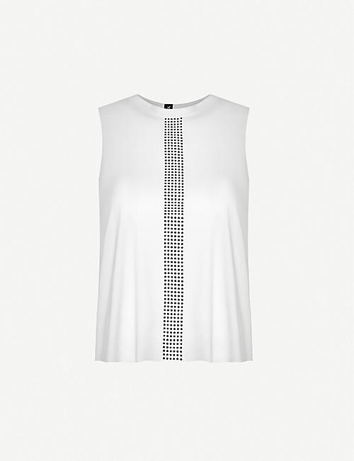 ULTRACOR: Mini Star sleeveless stretch-jersey top