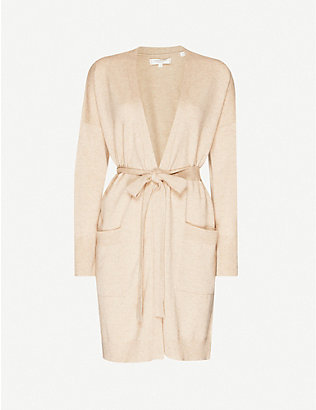 CHINTI AND PARKER: The Duster belted cashmere cardigan