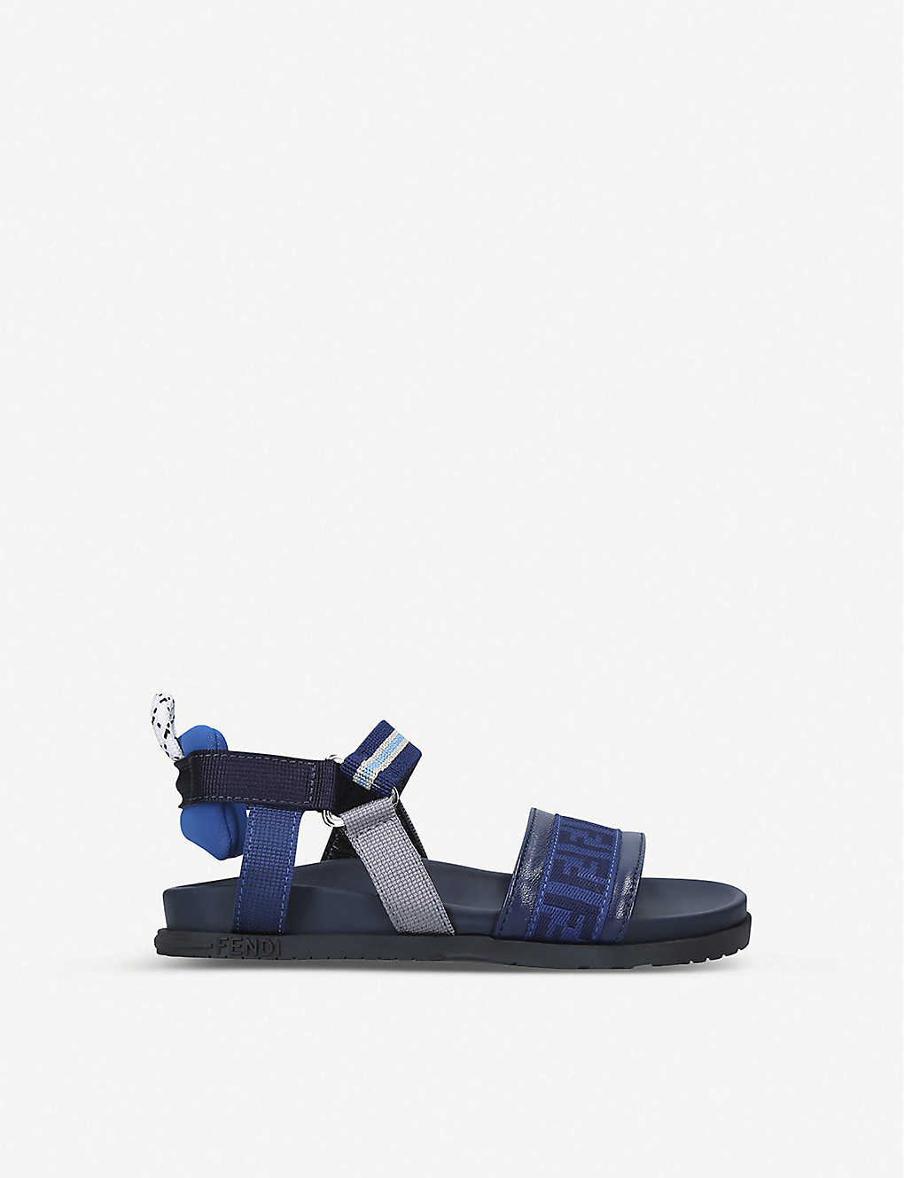 FENDI: FF logo-print elasticated sandals 3-7 years