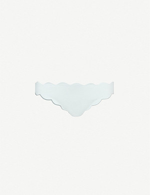 MARYSIA Antibes scalloped bikini bottoms
