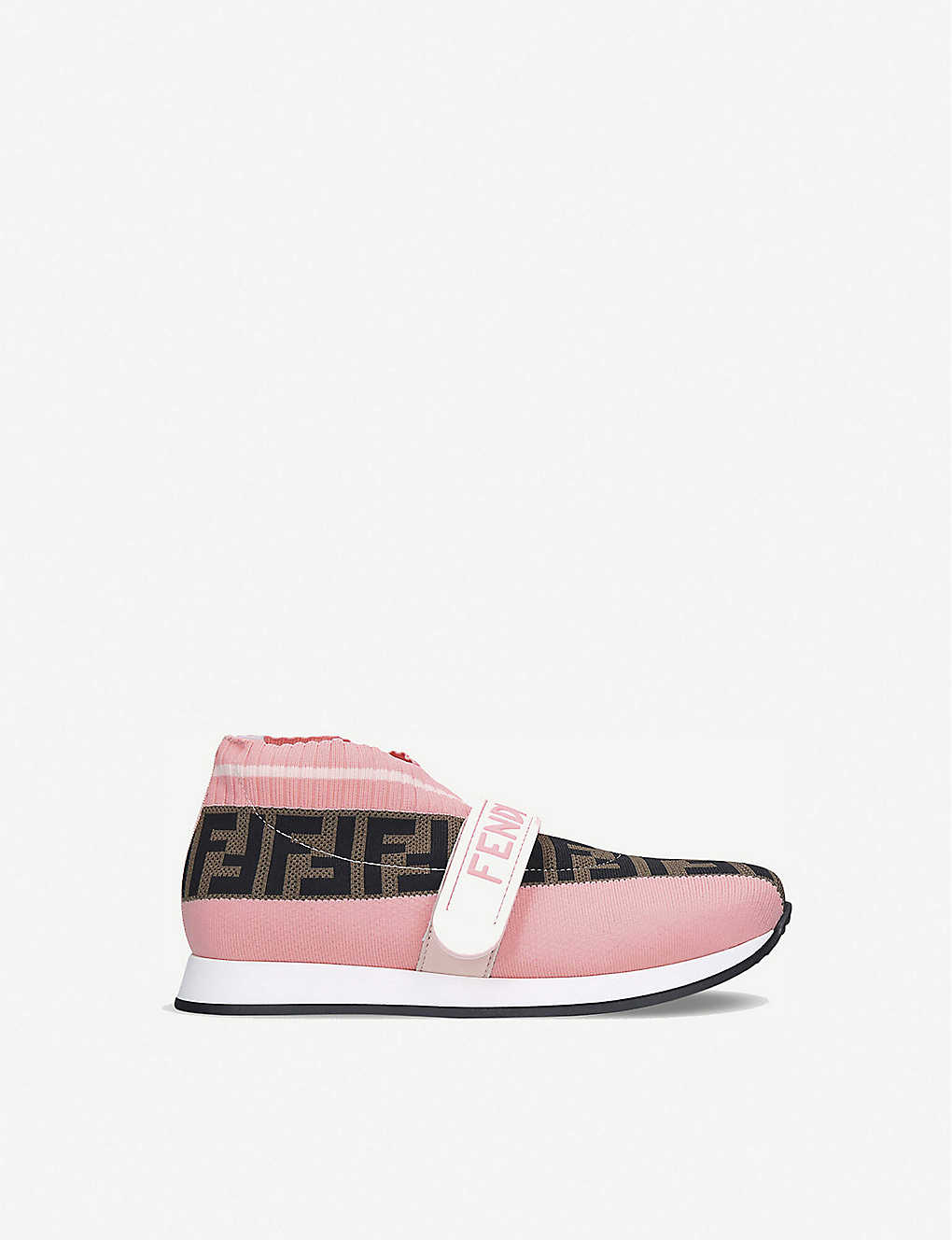 FENDI: Love Low pull-on knitted trainers age 6-7 years