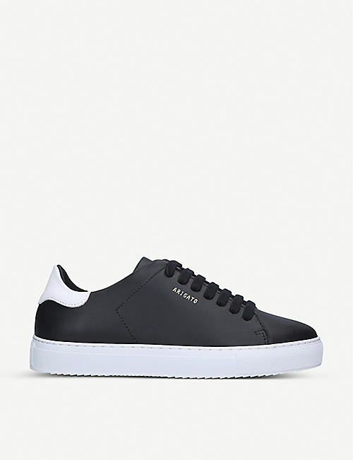 AXEL ARIGATO: Clean 90 contrast-heel leather trainers