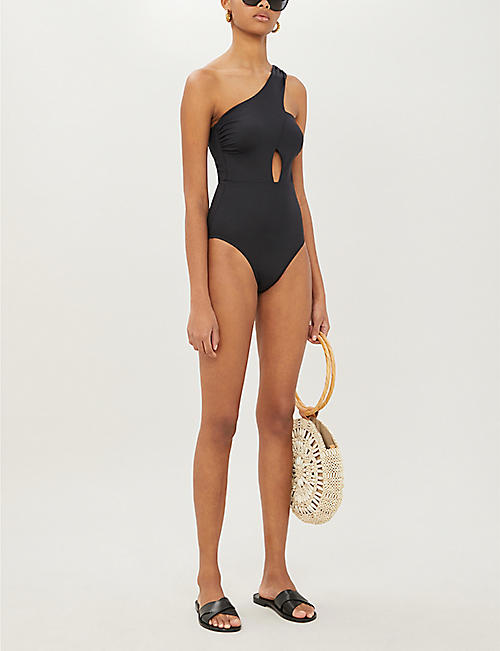 LAZUL Elsa one-shoulder swimsuit