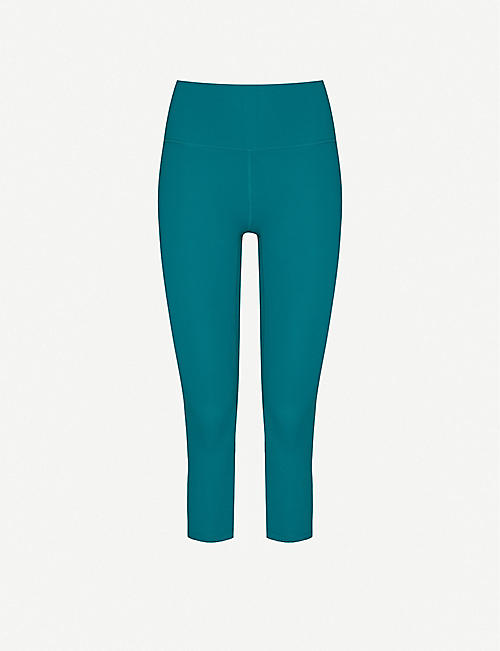 LORNA JANE Ultimate Yoga stretch-jersey leggings