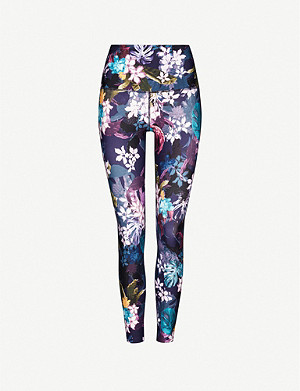LORNA JANE Hyperbloom stretch-jersey leggings