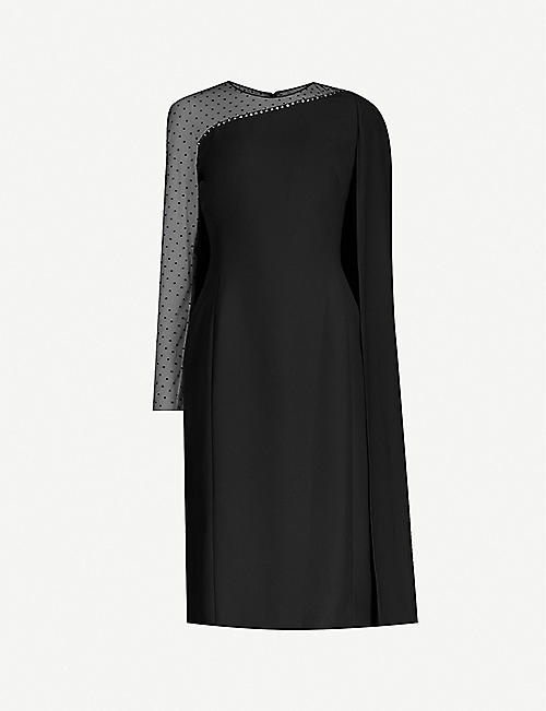JENNY PACKHAM Rey stretch-crepe midi dress