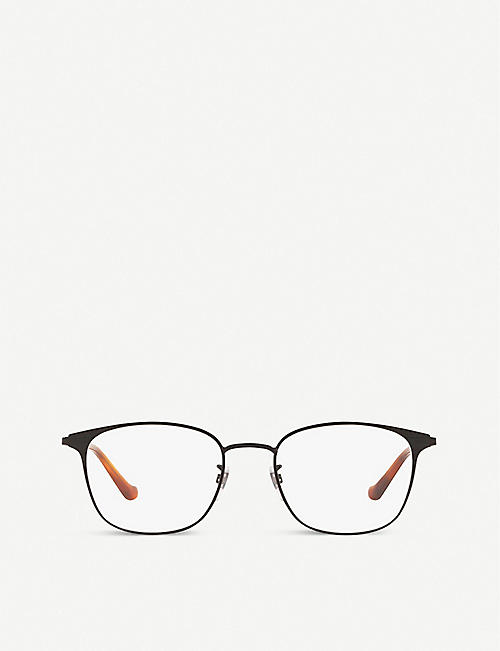 GUCCI: GG0578OK square-framed metal eyeglasses