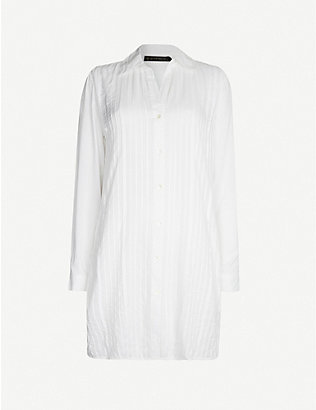 VIX: Jacque cotton shirt dress
