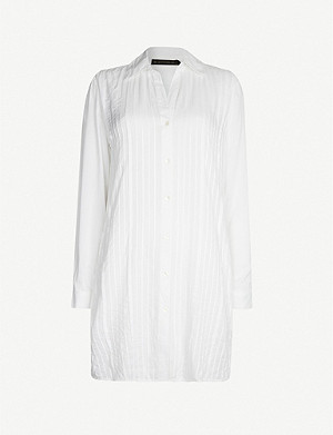 VIX Jacque cotton shirt dress