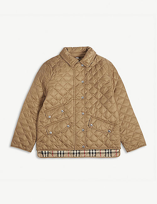 BURBERRY Brennan quilted jacket 3-14 years