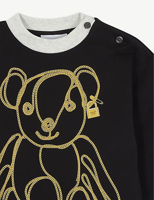BURBERRY Bear jumper dress 6-24 months