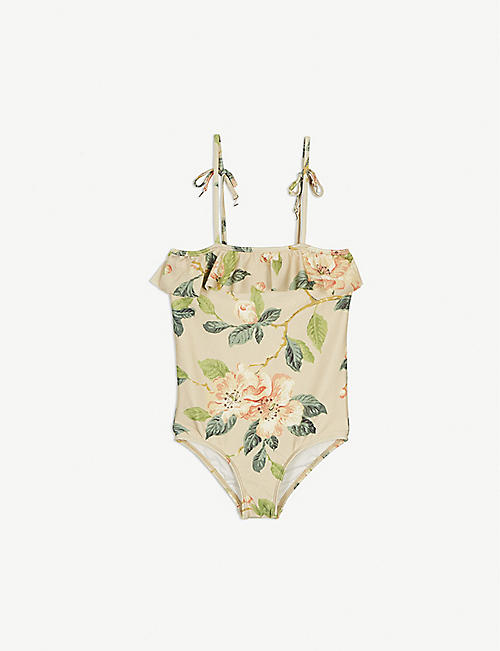 ZIMMERMANN Kira floral swimsuit 6-8 years