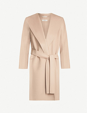 S MAX MARA Messi tie-belt wool coat