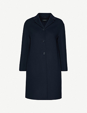 S MAX MARA Chic notch-lapel wool coat