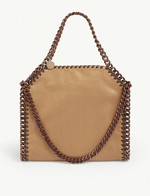 STELLA MCCARTNEY Mini Babybella crochet tote
