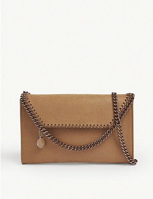 STELLA MCCARTNEY: Falabella chain trim crossbody pouch