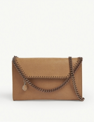 STELLA MCCARTNEY Falabella chain trim crossbody pouch
