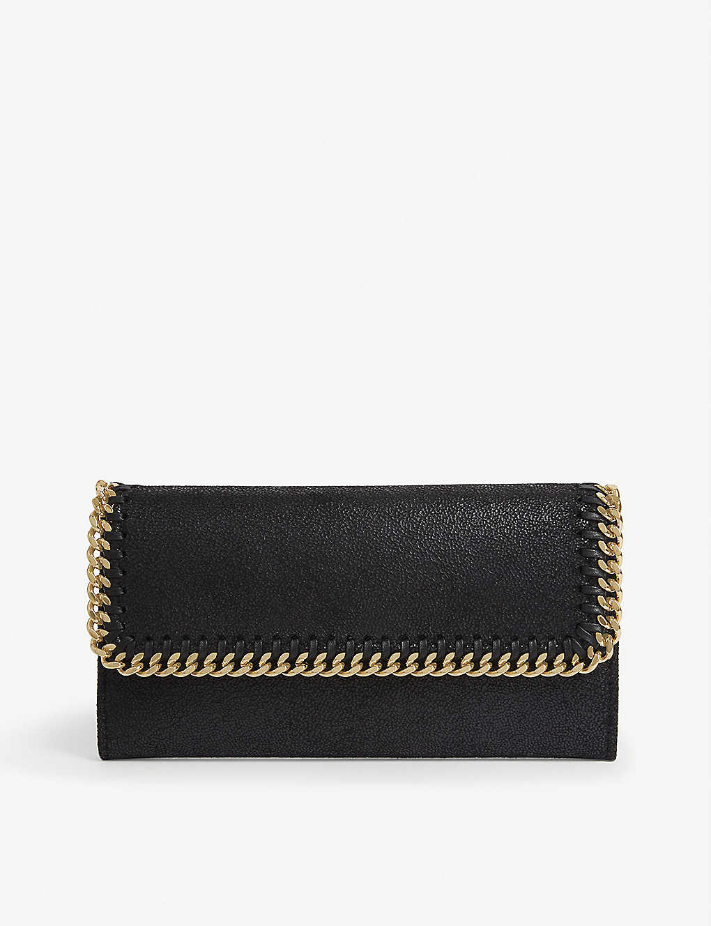 STELLA MCCARTNEY: Falabella faux-leather continental wallet