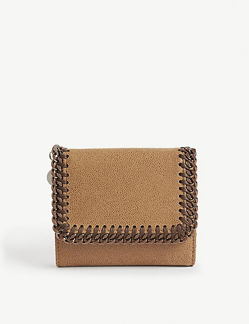 STELLA MCCARTNEY Falabella continental small flap wallet