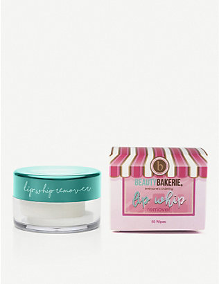 BEAUTY BAKERIE: Lip Whip remover 50 wipes