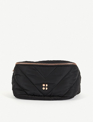 SWEATY BETTY Icon quilted woven bum bag