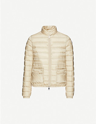 MONCLER: Lans padded shell-down jacket