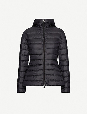 MONCLER Amethyste padded shell-down hooded jacket