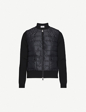 MONCLER Puffer shell-down jacket